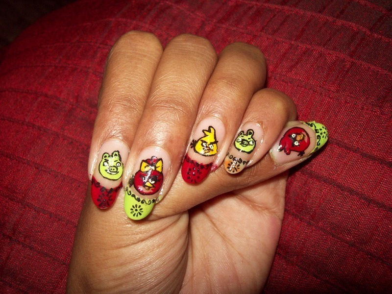 Exelent Tweety Bird Nail Art Composition - Nail Art Ideas - morihati.com