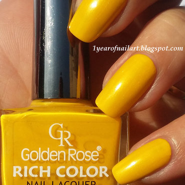 Swatch golden rose rich color thumb370f