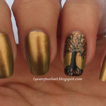 Nail art tree of life thumb370f