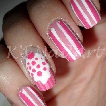 Pink cupcake nails 1 thumb370f