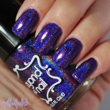 Beyond the Nail Space Cadet Swatch by Maddy S