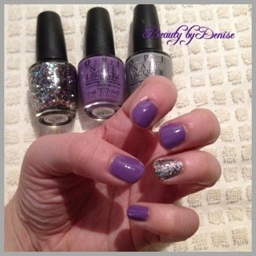 All that glitters nail art by Denise's Beauty Spot
