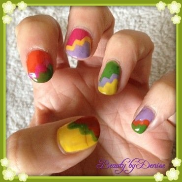 Step into Colour nail art by Denise's Beauty Spot