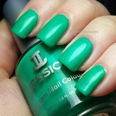 Jessica Electric Teal Swatch by Sam