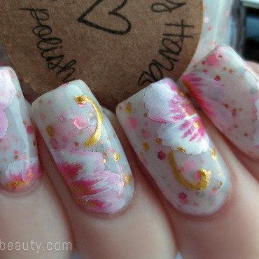 Happy hands fairy tale one stroke nail art 2 thumb370f