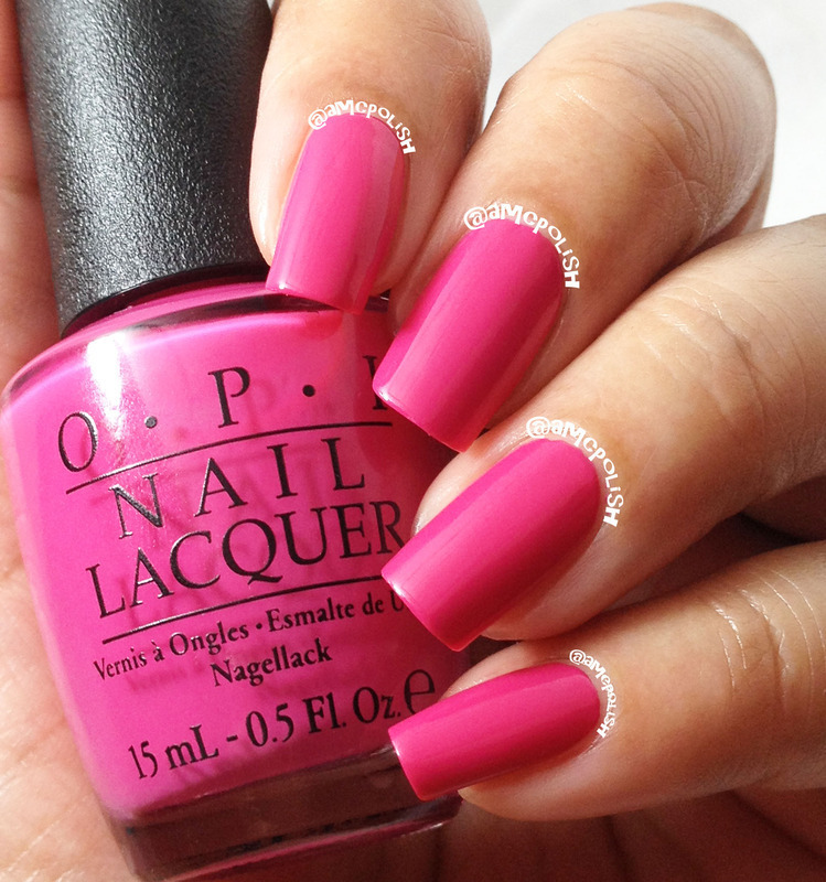 OPI 50 Is The New Fabulous Swatch by Amber Connor