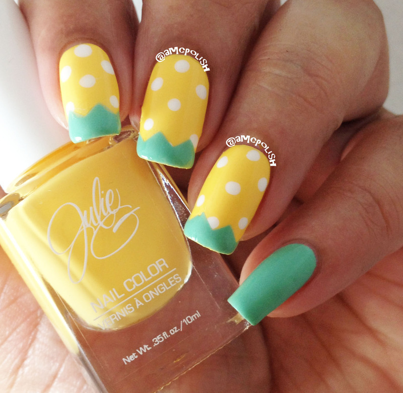 Spring Fun nail art by Amber Connor