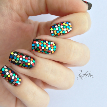 Mosaik nail art by lackfein
