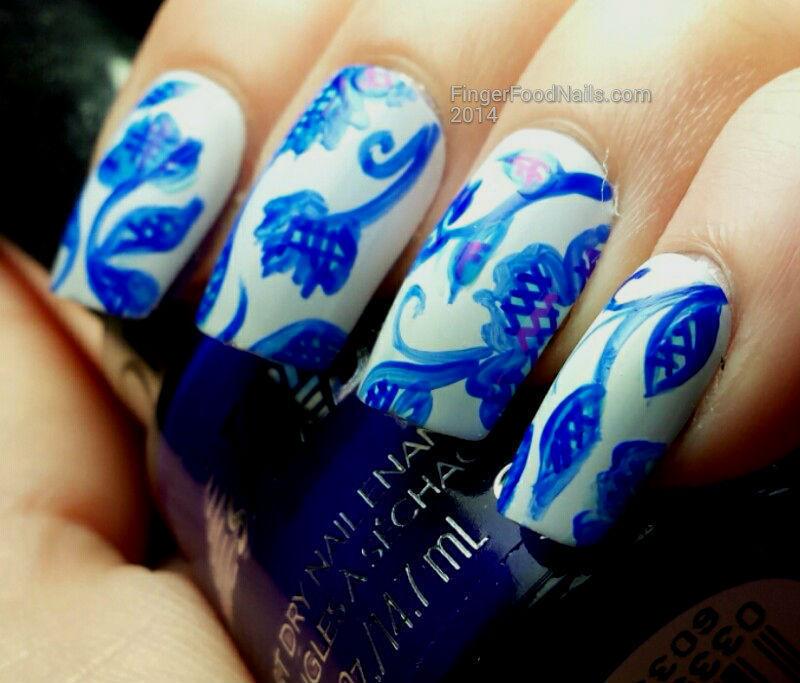 Theme Buffet - Oriental nail art by Sam