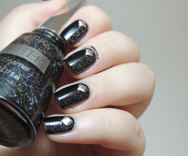 Studs, studs, studs nail art by Marine Loves Polish - Nailpolis ...