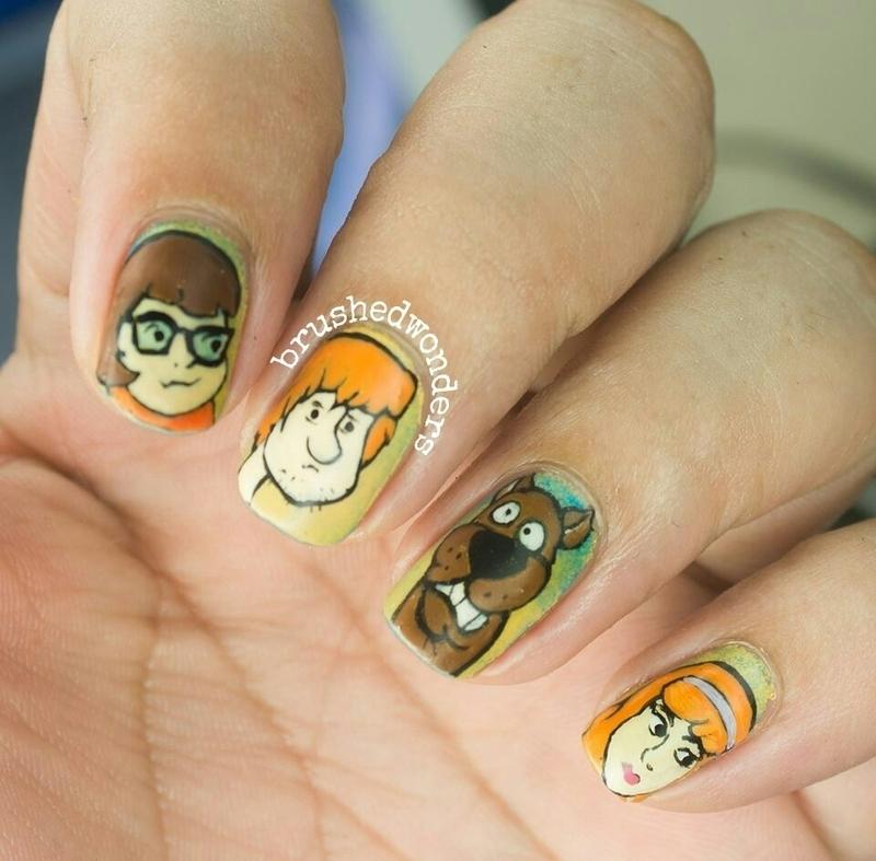 Scooby Doo Nail Art Nail Art By Kate Nailpolis Museum Of Nail Art