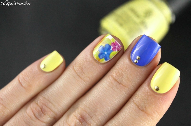 WD mani :) nail art by Cocosnailss