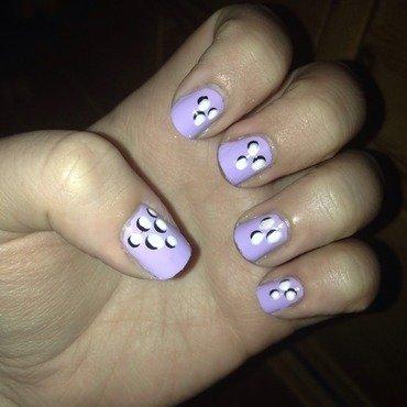 3D Dot Nails nail art by Natalie
