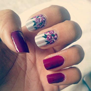 Spring Blossoms nail art by Krishna Patel