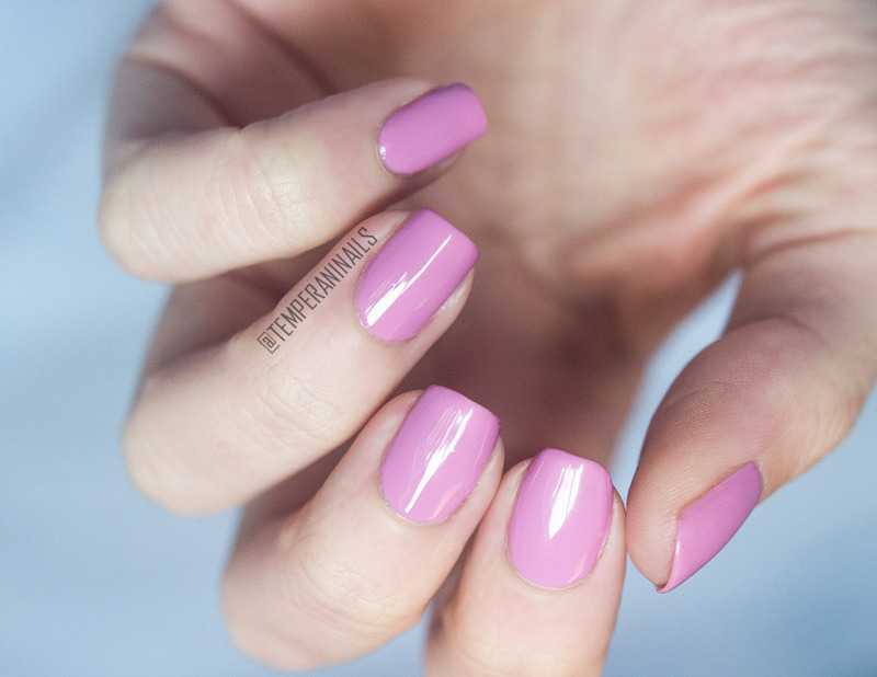 OPI Lucky Lucky Lavender Swatch by Temperani Nails