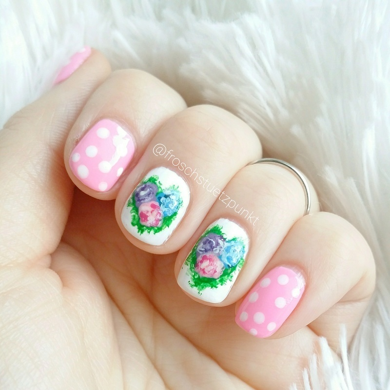 Flowers for my Mom <3 nail art by froschstuetzpunkt