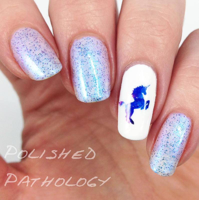 The Unicorn nail art by J Pathology - The Unicorn Nail Art By J Pathology - Nailpolis: Museum Of Nail Art