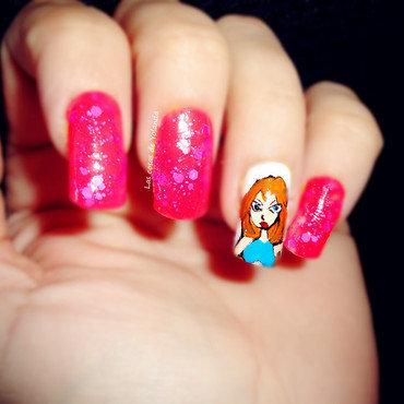 Las Winx nail art by Yolanda flores