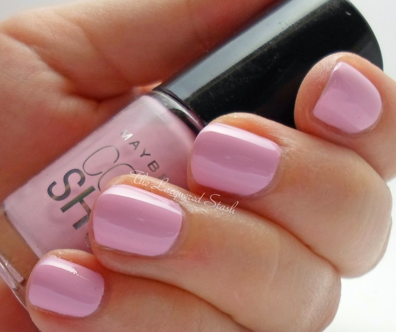 Maybeline Color Show Pink Embrace Swatch by Emma N.