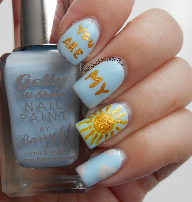 You Are My Sunshine Nail Art By Lisa Yabsley Nailpolis Museum Of