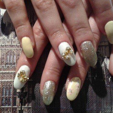 golden mom nails nail art by eva pantazi