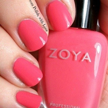 Zoya wendy swatch tickled thumb370f