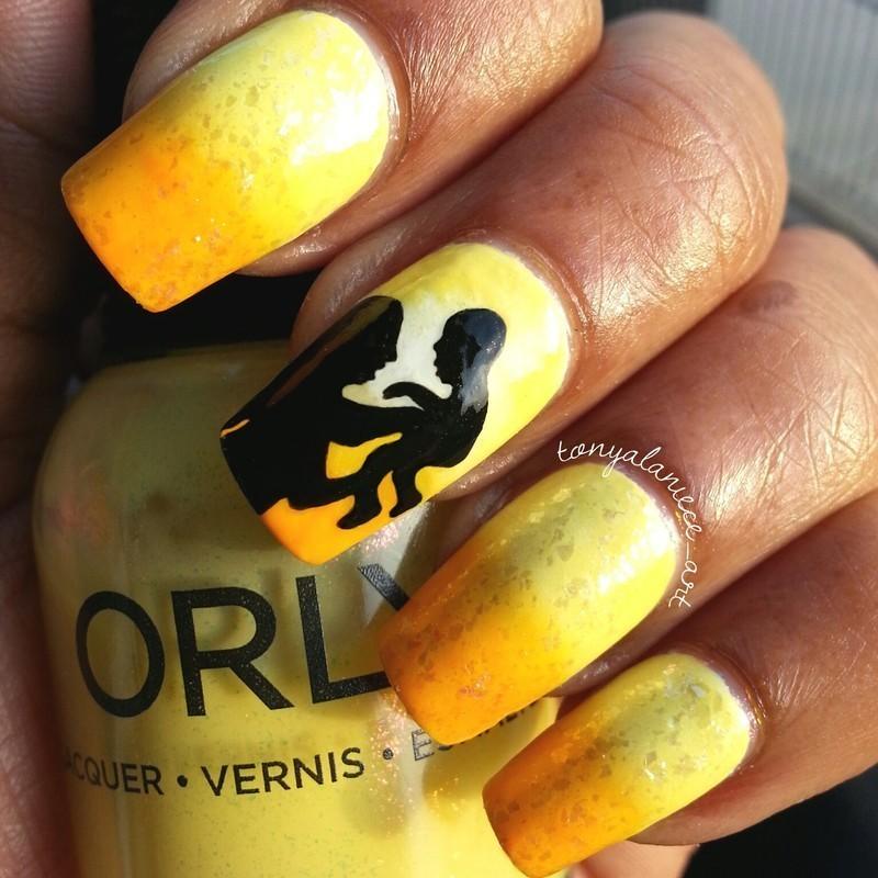 A Mother's Love ♥ nail art by Tonya