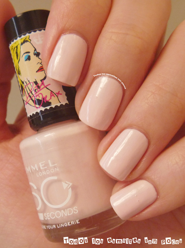 "Rimmel Rita Ora limited edition ""Lose your lingerie"" Swatch by Maria"