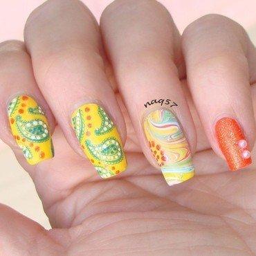 Paisley Fun nail art by Nora (naq57)
