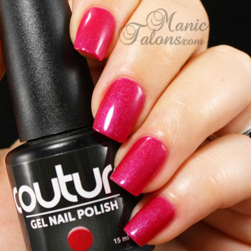 Couture Gel Polish Paparazzi Swatch by ManicTalons