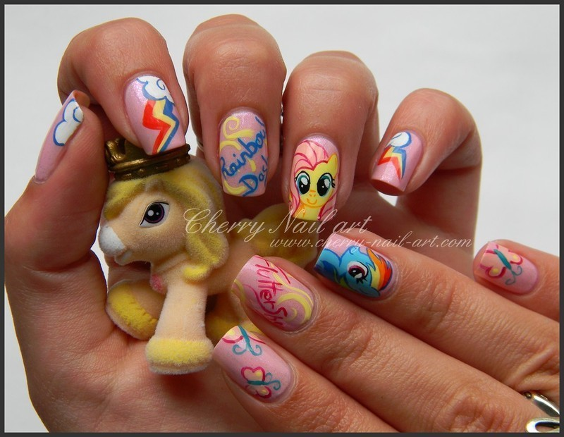 Nail art my little pony nail art by cherry nail art nailpolis nail art my little pony nail art by cherry nail art prinsesfo Gallery