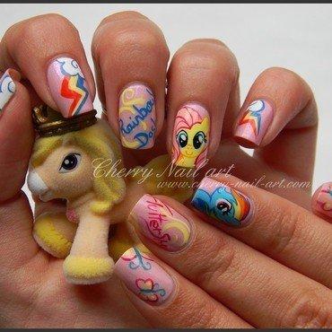Nail art my little pony nail art by Cherry Nail art
