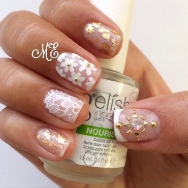 Spring Delicacy nail art by Miriam