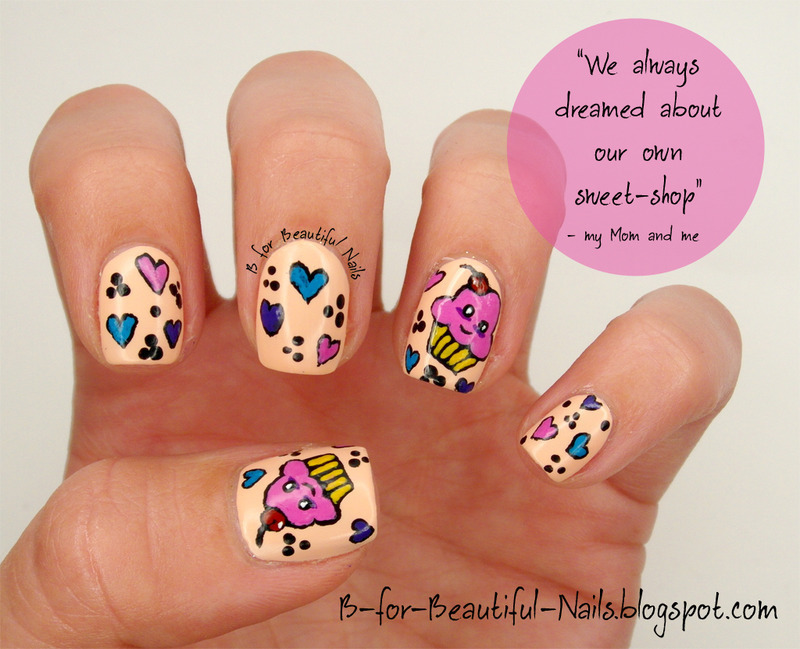 Our Dream ♥ nail art by B.