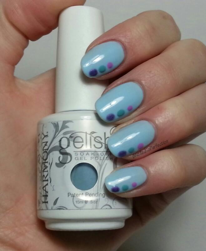 Spring pastels nail art by Bethany