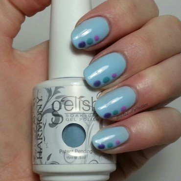 Spring pastels nail art by Bethany