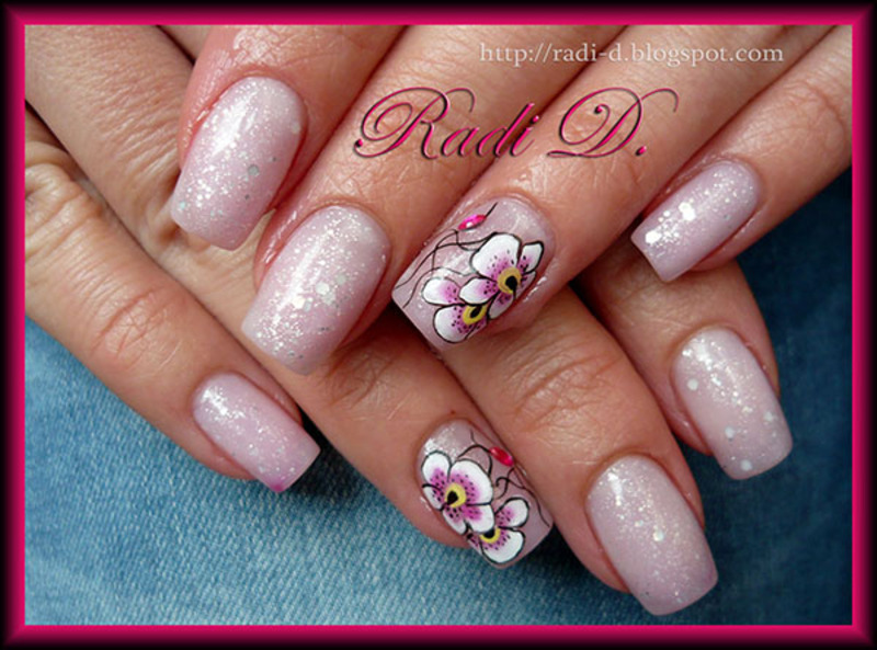 Color changing gel polish orchids hot nail art by radi color changing gel polish orchids hot nail art by radi dimitrova prinsesfo Images