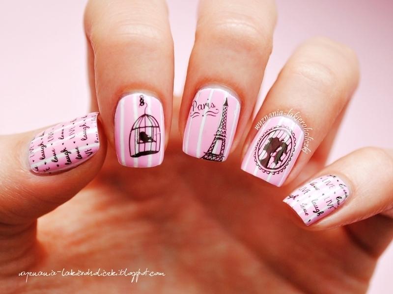 A walk through Paris nail art by Olaa