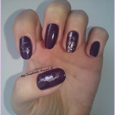Mani for my Mother nail art by Oana  Alexandru