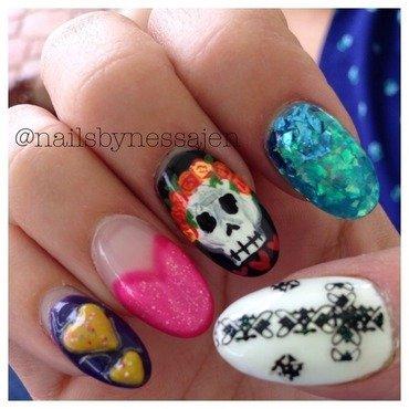 ClusterFuck nail art by Vanessa Jenelle