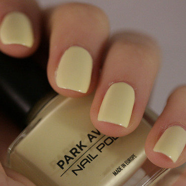 Park Avenue lemon drop Swatch by NerdyFleurty