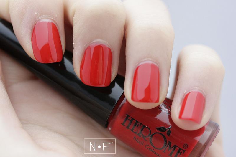 Hêrome red Swatch by NerdyFleurty