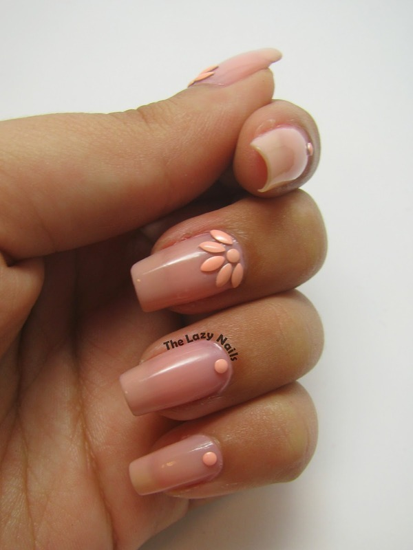 Mother's day nail art by Hadas Drukker