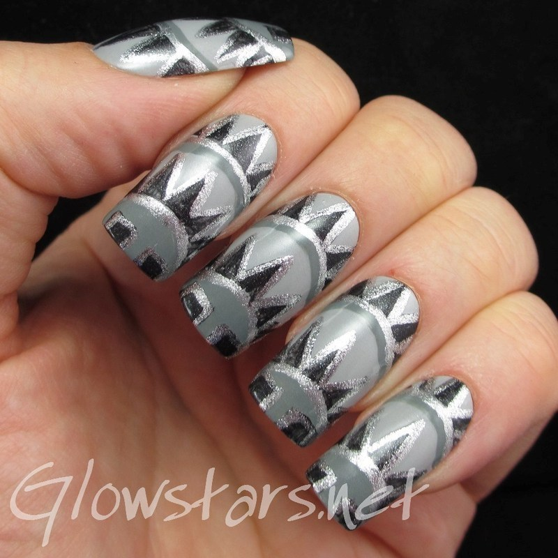 The Digit-al Dozen Does Decades: 20s and 30s nail art by Vic 'Glowstars' Pires