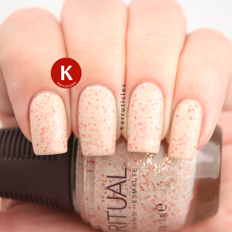 SpaRitual Barefoot Swatch by Claire Kerr