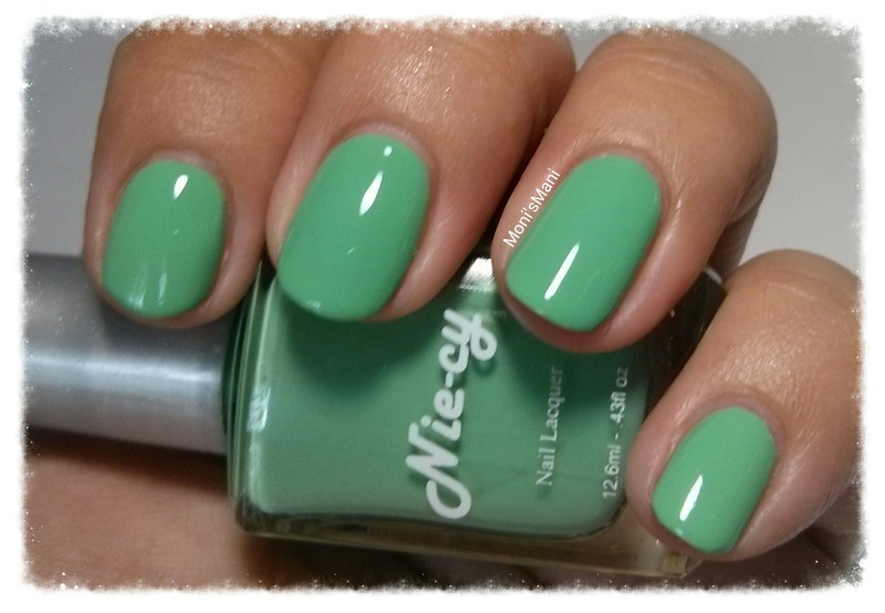 Nie-cy polish you are my lady Swatch by Moni'sMani