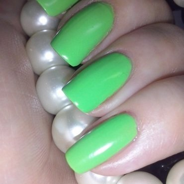 OPI You Are So Outta Lime! Swatch by Alice in Wonderland CZ