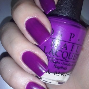 OPI Push and Pur-Pul Swatch by Alice in Wonderland CZ