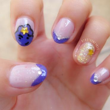 Lumpy Princess Nail Inspired! nail art by Honey Bee