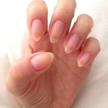 Au Natural claws  nail art by Elaina